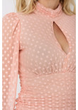 Блуза «Лестер» рожевого кольору