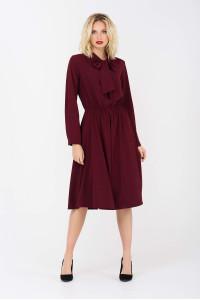 Сукня «Райлін» кольору марсала