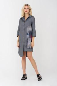 Сукня «Дафна» сірого кольору