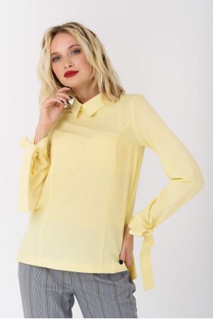 Блуза «Глен» жовтого кольору