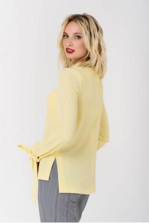 Блуза «Глен» желтого цвета