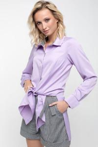 Блуза «Шейн» світло-бузкового кольору