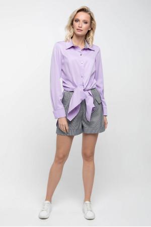 Блуза «Шейн» светло-сиреневого цвета