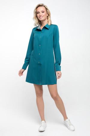 Блуза «Шейн» смарагдового кольору