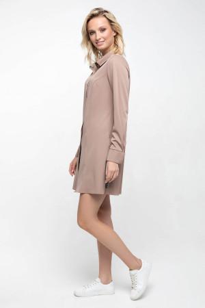 Блуза «Шейн» коричневого кольору