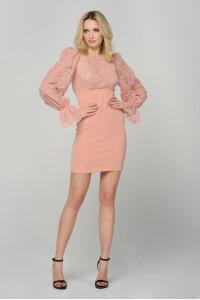 Платье «Доннар» розового цвета