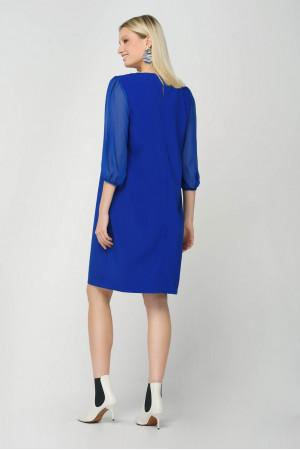 Платье «Ковин» синего цвета