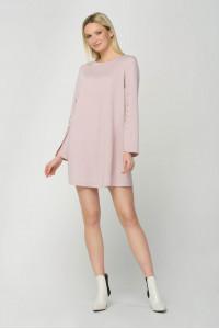Платье «Лотар» пудрового цвета