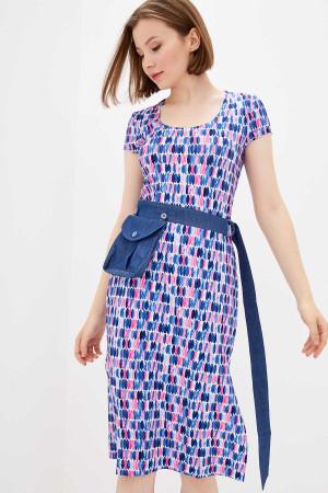 Сукня «Діллі» синього кольору