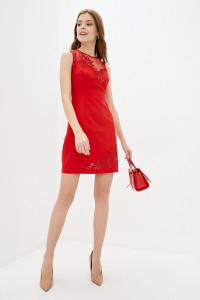 Платье «Делайла» красного цвета