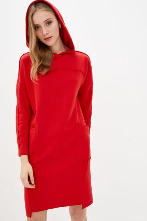 Платье «Полетт» красного цвета
