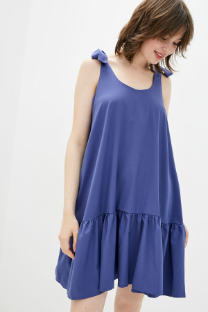 Сарафан «Ингмора» цвета джинс