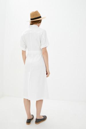 Платье «Домар» белого цвета