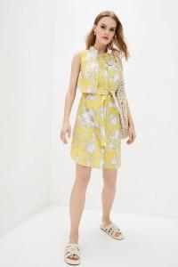 Платье «Адвайн» желтого цвета