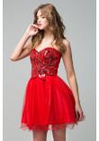 Сукня «Еліна» червоного кольору