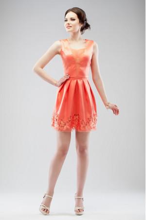 Сукня «Брайд» коралового кольору