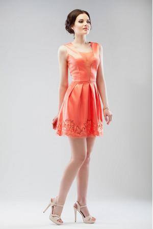 Платье «Брайд» кораллового цвета