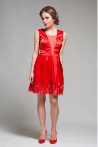Сукня «Брайд» червоного кольору