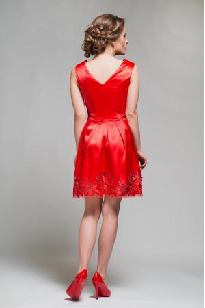 Платье «Брайд» красного цвета