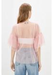 Блуза «Мілліна» рожевого кольору