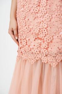 Платье «Оливия» розового цвета