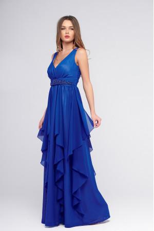 Платье «Лирэль» цвета электрик