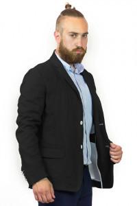Мужской пиджак «Марк» черного цвета
