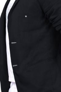 Чоловічий піджак «Марк» чорного кольору