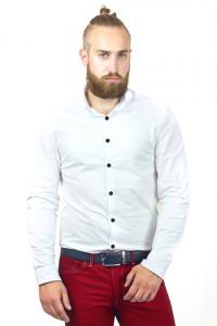 Чоловіча сорочка «Джеймс» білого кольору