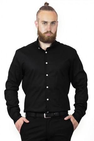 Чоловіча сорочка «Джеймс» чорного кольору