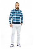 Чоловічий джемпер «Макс» синього кольору
