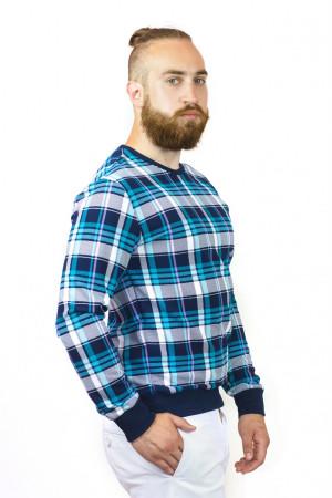 Мужской джемпер «Макс» синего цвета