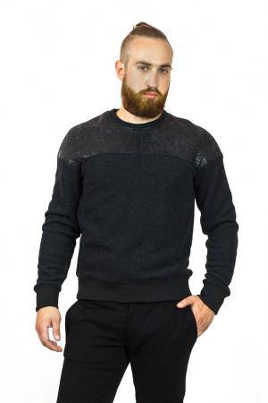 Чоловічий джемпер «Джокс» чорного кольору