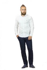 Мужская рубашка «Траст» белого цвета
