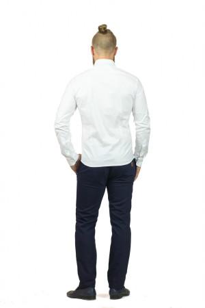 Чоловіча сорочка «Траст» білого кольору