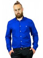 Чоловіча сорочка «Траст» синього кольору