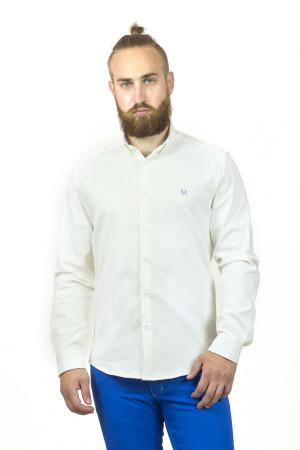 Біла чоловіча сорочка «Траст»