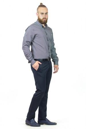 Чоловіча сорочка «Траст» сірого кольору