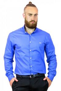 Мужская рубашка «Траст» голубого цвета