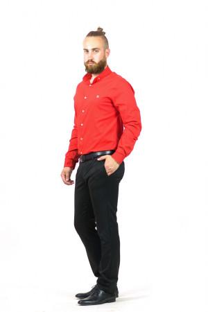 Чоловіча сорочка «Траст» червоного кольору