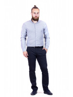 Чоловіча сорочка «Болд» сірого кольору