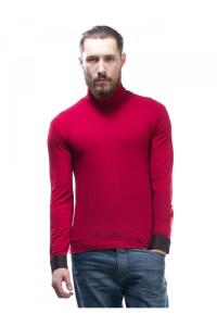Чоловічий гольф «Пайп» червоного кольору