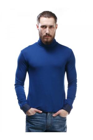 Мужской гольф «Пайп» синего цвета