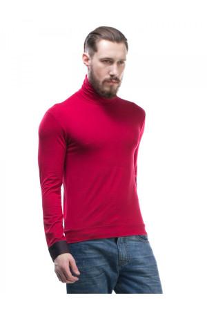 Мужской гольф «Пайп» красного цвета