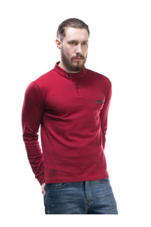 Чоловічій джемпер «Едді» червоного кольору