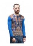 Чоловічій джемпер «Ворт» блакитного кольору