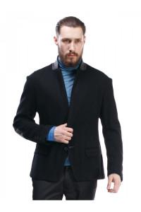 Мужской пиджак «Хендл» черного цвета