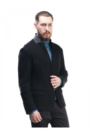 Чоловічий піджак «Хендл» чорного кольору