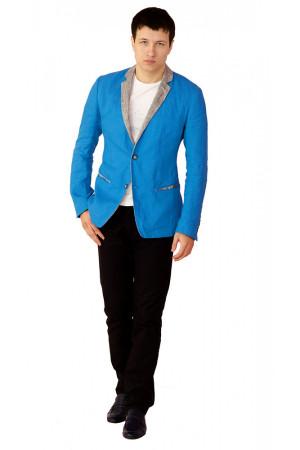 Стильний чоловічий піджак з льону – купити в Києві з доставкою по ... fc87c5f314098