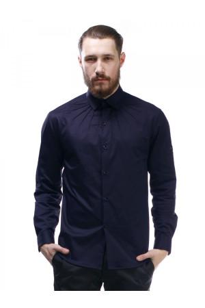 Чоловіча сорочка «Гайд» темно-синього кольору